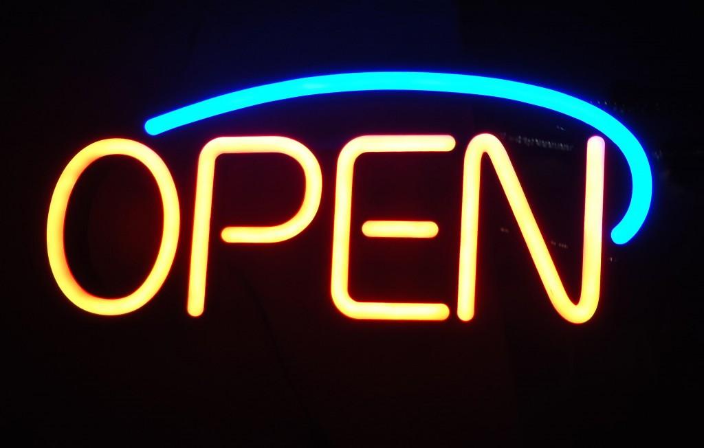 open sign MGD©